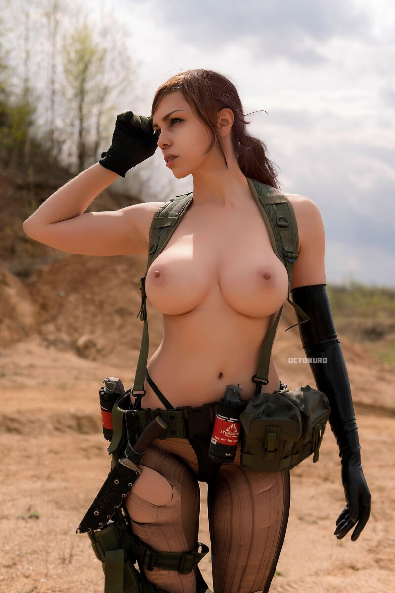 MGS 5 - Quiet cosplay (model - Octokuro) picture