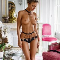 Blonde Hot Lingerie  pics