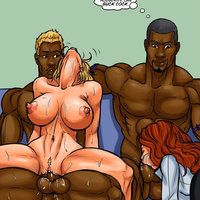 Group Sex Hentai Interracial  pics